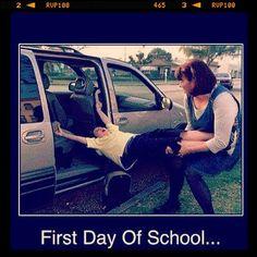 Hahaha #firstdayofschool #lol #funnyshit #haha #lmao #bahaha #memes