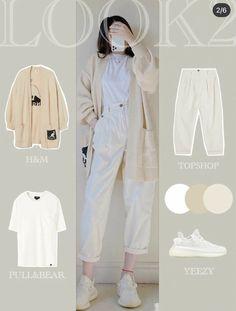 Korean Girl Fashion, Korean Fashion Trends, Ulzzang Fashion, Korean Street Fashion, Kpop Fashion Outfits, Girls Fashion Clothes, Korea Fashion, Korean Fashion School, Korean Fashion Casual