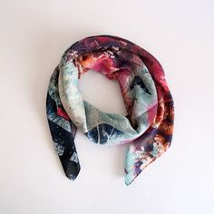 Boho women scarf scarves for her fall fashion gift for by selenayy