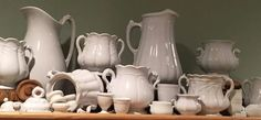 White ironstone collection
