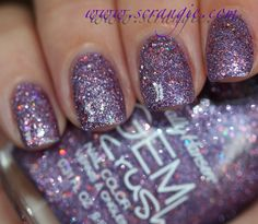 Scrangie: Sally Hansen Gem Crush Collection Swatches and Review - Bejeweled