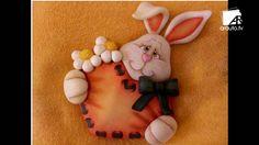 moldes de coelhos de pascoa em feltro - Pesquisa Google
