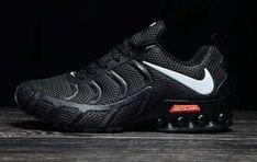 online store 4bcdd 49a98 Mens Womens Nike Air Shox KPU 2019 Footwear Black White Nike Shox, Nike Air,