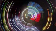 Wat je ziet als je een GoPro camera aan een autoband bevestigt