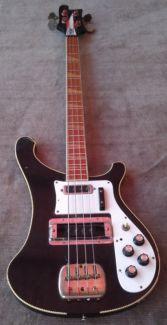 70er Japan Rickenbacker Kopie Bass Vintage Rarität in Baden-Württemberg - Waghäusel | Musikinstrumente und Zubehör gebraucht kaufen | eBay Kleinanzeigen