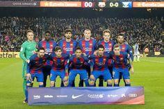 Equipos de fútbol: BARCELONA contra Leganés 19/02/2017