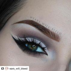 Soft Glam by the amazing @ears_will_bleed 😍 using Multitasker Pencil in 'Elephant!' . . . #mua #bblogger #makeupartist #eyes #eyemakeup #gettthelook #makeupjunkies #crueltyfreemakeup #cfbloggers #satcolcosmetics