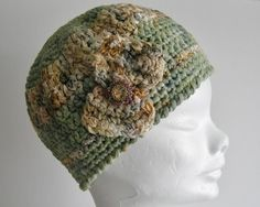 This lightweight cotton and ribbon yarn winter vintage style hat is a stylish alternative for those who love vintage fashion. Cotton Hat, Cotton Crochet, Crochet Hats, Ribbon Yarn, 1920s, Vintage Fashion, Range, Wool, Inspired