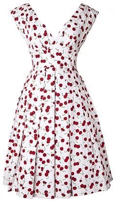 Cherry dress! YES!