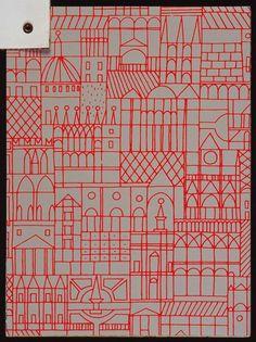Wallpaper Designed by Alexander Girard for Herman Miller [source] Alexander Girard, Textiles, Textile Prints, Textile Design, Misaki Kawai, Graphic Design Illustration, Illustration Art, Arte Popular, Designer Wallpaper
