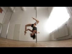 Spinning Pole Dance Combo / Forward Attitude Spin Spins Into Climbing) Pole Dancing Quotes, Pole Dancing Fitness, Pole Fitness, Pole Classes, Pole Tricks, Pole Dance Moves, Pole Art, Little Girl Dancing, Swing Dancing