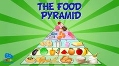 THE FOOD PYRAMID   Educational Video for Kids. Healthy And Unhealthy Food, Healthy Eating, Squat, Food Pyramid Kids, Cottage Cheese Nutrition, Nutritional Value Of Eggs, Salud Natural, Fat Burning Drinks, Healthy Recipes