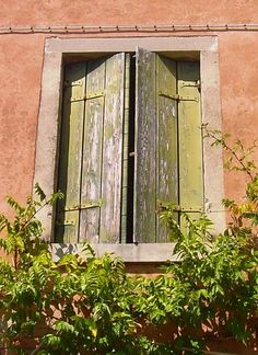 windows and shutters in Torcello, Italy - Amy Barnett photo