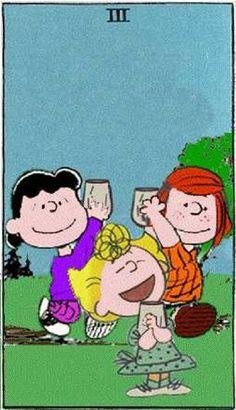 Peanuts Tarot
