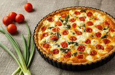 Quiche Lorraine, Quiches, Mozzarella, Burrata Pizza, New Recipes, Cooking Recipes, Pizza And More, Empanadas, Delish