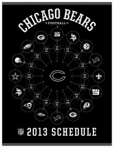 Chicago bears 2013 schedule
