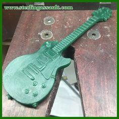Work in progress shot. Custom Les Paul wax model. #waxmodel #lespaul #guitar #handcarved #sterlingassault #ajaIII #alfredalbrizioinc #guitarlovers #gibson #gibsonlespaul