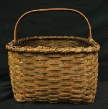 I love using old baskets around the house.