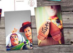 Toy Story lot de 6 cartes postales Buzz léclair Shérif