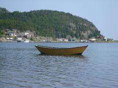 Newfoundland Dorey on Little Bay Islands