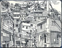 Rocinha Favela, Rio de Janeiro - Paul Heaston