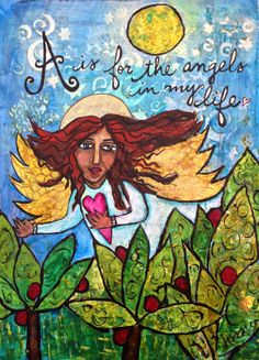 Jessica Sporn Designs: A is for Angels