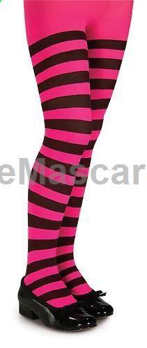 Child Stripe Tights Opaque Stocking Girl Female Pantyhose Costume Dress Up | eBay $7.99 #pantyhose #sexy #ladies #women #ladyproducts #lush #smooth #fashion #stunning #legs #glamour