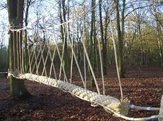 how to make a rope bridge - Google Search