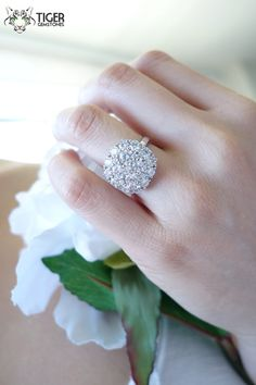 Hey, I found this really awesome Etsy listing at https://www.etsy.com/listing/191486374/sale-4-carat-sparkly-round-brilliant-cut