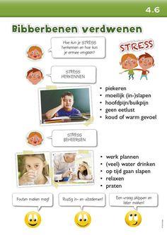 Klasposters-Leerladders - stress voor proeven