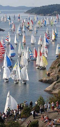 North Sea Yacht Racing in Sweden