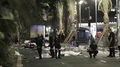 Un camión atropelló a una multitud que celebraba el Día de la Bastilla en la ciudad de Niza, lo que dejó al menos 75 muertos.