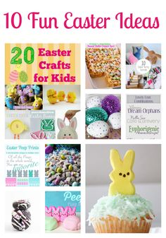 10 Fun Easter Ideas {The Love Nerds} #Easter #Easterdecor #recipes