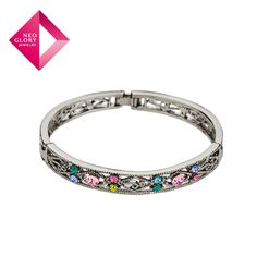 Aliexpress.com : Buy Free Shipping Neoglory Rhinestone Alloy Plated Bangle Fashion Bracelet For Women Gift Holiday European Style Jewelry from Reliable bangles suppliers on NEOGLORY JEWELRY