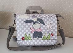 Kindergartentaschen - Kindergartenrucksack/ Kindergartentasche Esel - ein Designerstück von Feinerlei bei DaWanda