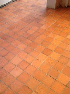 Quarry Tile Restoration Hertfordshire