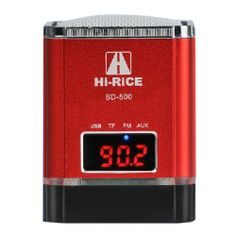 [US$ 19.89] LED Digital Tube Display Classic Design Mini Speaker with TF Card Slot,USB Host,FM