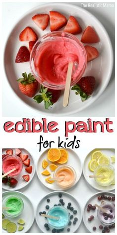 Kids Edible Paint for Kids! It's as yummy as it looks!Edible Paint for Kids! It's as yummy as it looks!Paint for Kids Edible Paint for Kids! It's as yummy as it looks!Edible Paint for Kids! It's as yummy as it looks! Baby Sensory Play, Sensory Activities, Infant Activities, Activities For Kids, Baby Play, Edible Sensory Play, Sensory Play For Toddlers, Sensory Diet, Baby Crafts