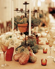 "See the ""Farm to Table"" in our 21 Wedding Centerpieces Bursting With Fruits and Vegetables gallery"