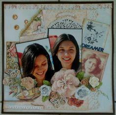 Dreamer - Scrapbook.com Prima - Delight Collection