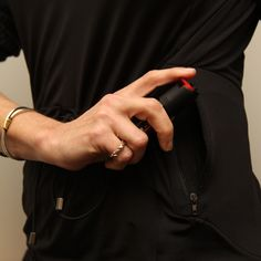Concealed Carry Athletic Shirt for Active Women | The Wanted Wardrobe Boutique