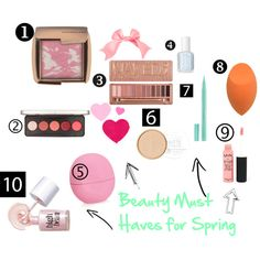 """""""Beauty Must Haves for Spring"""" http://sassysapperstein.com/2014/03/06/beauty-must-haves-for-spring/"""