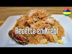 Recette Vermicille Sec (Special Eid) Kreol Morisien - YouTube Mauritian Food, Grains, Rice, Food, Jim Rice, Korn, Brass