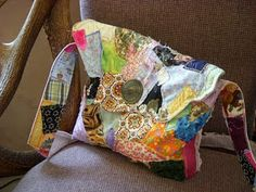 patchwork purse Unusual