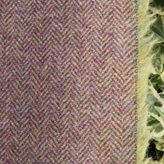 Wool Tweed Curtain/Upholstery Fabric - Herringbone Weave - Thistle in Home, Furniture & DIY, Curtains & Blinds, Other Curtains & Blinds | eBay