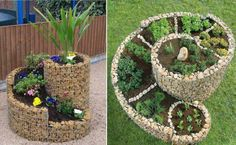 How To Build A Herb Spiral gardening garden herb herbs herb garden homesteading easy garden projects herb spiral food Herb Spiral, Spiral Garden, Diy Garden, Lawn And Garden, Garden Art, Garden Landscaping, Garden Design, Garden Beds, Herbs Garden
