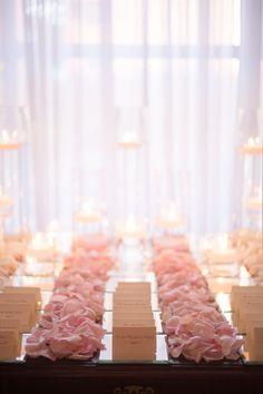 Elegant Pink + White Wedding at The Carltun Read more - http://www.stylemepretty.com/little-black-book-blog/2014/03/10/elegant-pink-white-wedding-at-the-carltun/