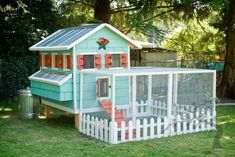 Raising chickens has gained a lot of popularity over the past few years. If you take proper care of your chickens, you will have fresh eggs regularly. You need a chicken coop to raise chickens properly. Use these chicken coop essentials so that you can. Chicken Coop Designs, Fancy Chicken Coop, Cute Chicken Coops, Backyard Chicken Coops, Building A Chicken Coop, Chickens Backyard, Chicken Coup, Backyard Coop, Chicken Feeders