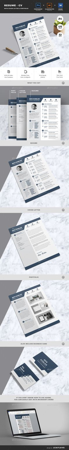 Typograhic Job Resume Job resume, Psd templates and Resume cv - resume word template download