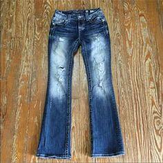 Miss Me 26x32 Bootcut Mid-Rise! Like New Miss Me 26x32 Bootcut Mid-Rise! Like New Miss Me Jeans Boot Cut